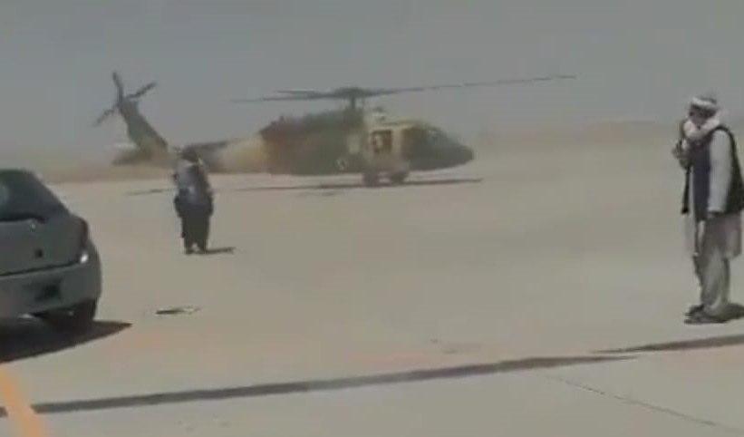 taliba helicoptero