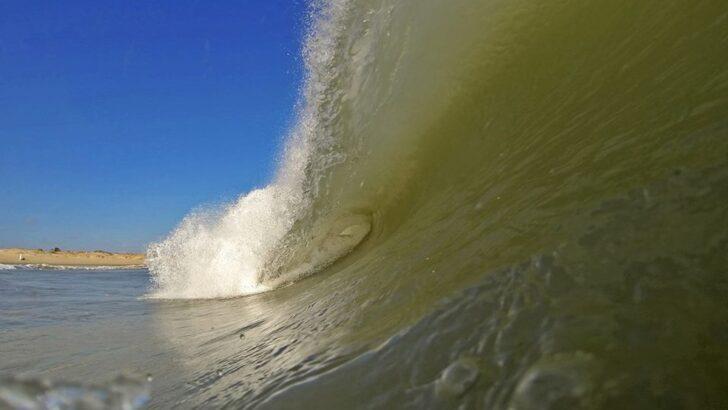 Marinha emite aviso de ventos fortes e ondas de até 2,5 metros no litoral do rn