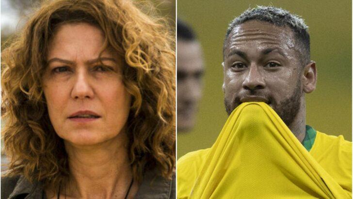 """Neymar responde à crítica da atriz patricia pillar: """"tenho que parar de fazer gol agora"""""""