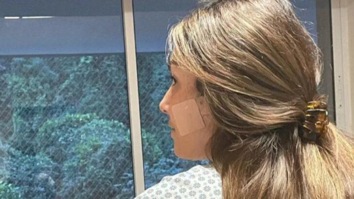 Patrícia poeta reaprende a comer após cirurgia e lamenta rosto desfigurado