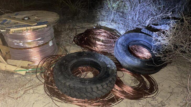 Operação de polícias civil e militar recupera material roubado de parque eólico no interior do rn