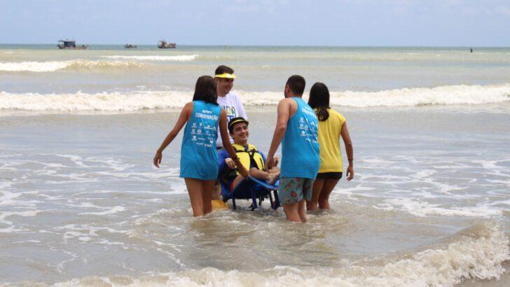 Natal praia inclusiva acontece nesse sábado em ponta negra