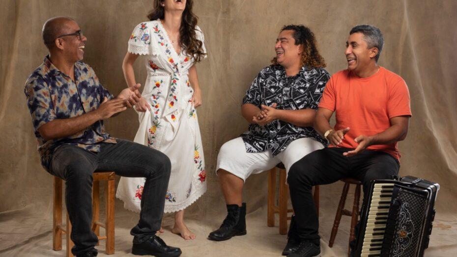 """Tanda macêdo lança single """"levo-te"""" em evento potiguar de música"""