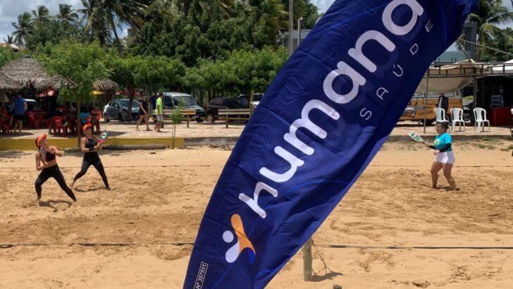 Humana saúde patrocina campeonato de beach tennis e reúne atletas em são miguel do gostoso
