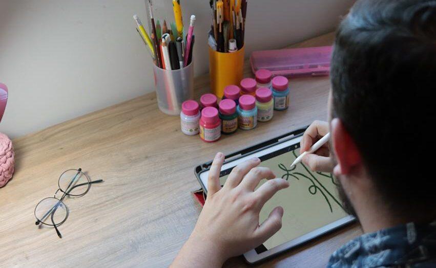 Ilustrador potiguar desenvolve artes sobre valorização da vida