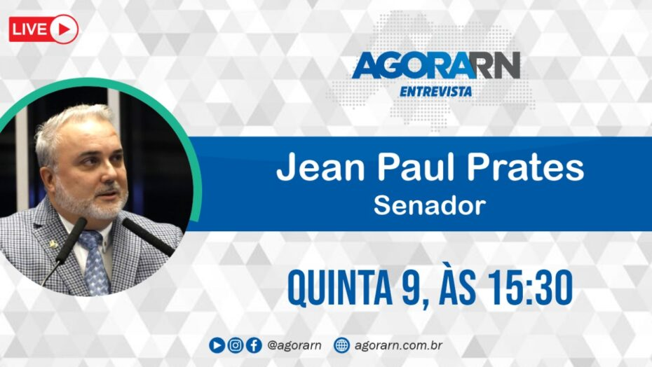 Agora entrevista – senador jean