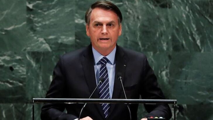 Na onu, bolsonaro defende tratamento sem eficácia contra covid-19