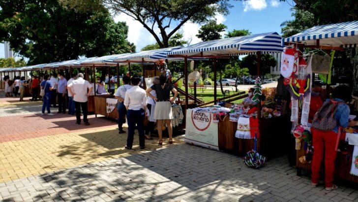 Nesta quinta do servidor ocorre a abertura da feira do artesanato, no centro administrativo