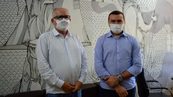 Prefeito emídio jr discute com diretor do der/rn ações para macaíba