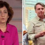 """Miriam leitão detona bolsonaro em dia de discurso: """"país colocado na calçada"""""""