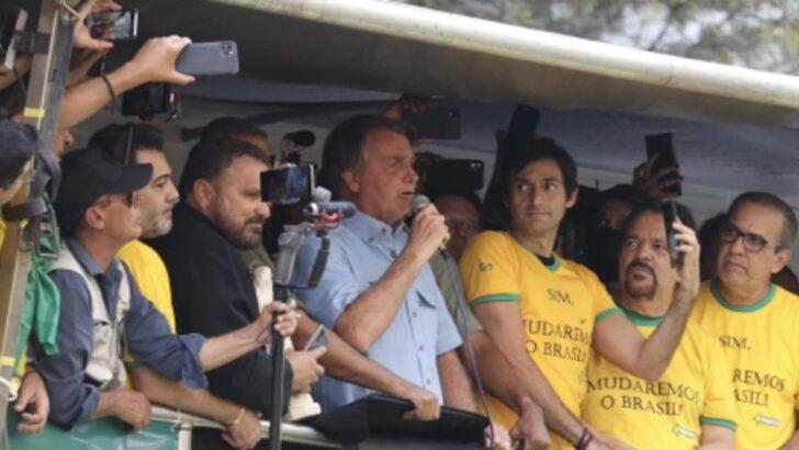 Bolsonaro diz a ministros que manterá divergência com stf, diz jornalista