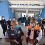 """Ministro da saúde visita hospital de campanha em natal e elogia: """"trabalho extraordinário"""""""