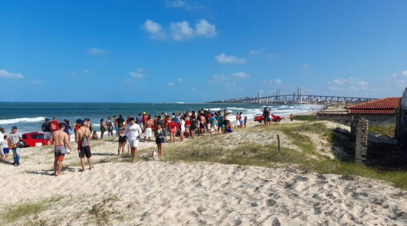 Corpo de bombeiros registra quatro mortes por afogamento no litoral do rn