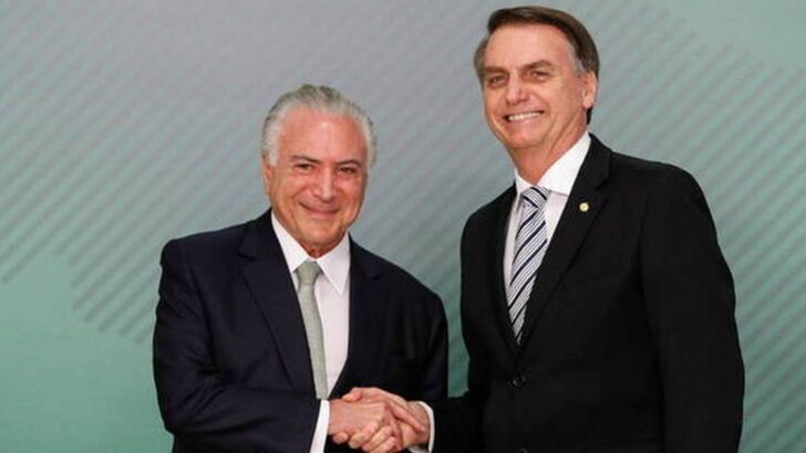 Temer revela detalhes da conversa de bolsonaro e ministro do stf sobre os protestos de 7 de setembro