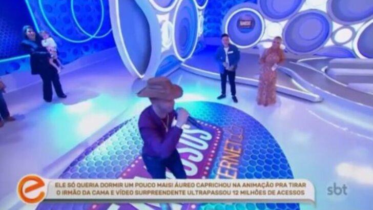 """Comediante potiguar viraliza e participa do programa de eliana, que diz: """"arrasou"""""""