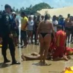 Jovem morre afogado na praia de genipabu, no rn