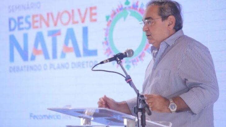 Álvaro dias participa de seminário sobre a revisão do plano diretor de natal