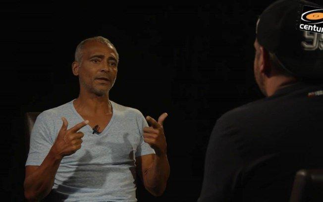 Romário elogia bolsonaro e diz que votaria nele em disputa contra lula