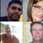 Chacina em churrasco deixa cinco mortos e quatro feridos