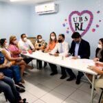 Comissão de saúde da câmara municipal de natal visita ubs no planalto