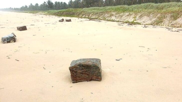 Fim do mistério: fardos encontrados em praias do nordeste pertenciam a dois navios nazistas
